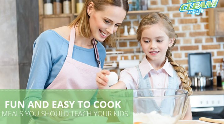 Fun and Easy-to-Cook Food Ideas to Teach Your Kids!