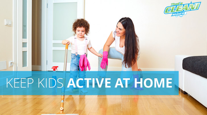 kids active at home