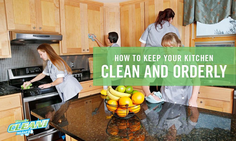 kitchen clean