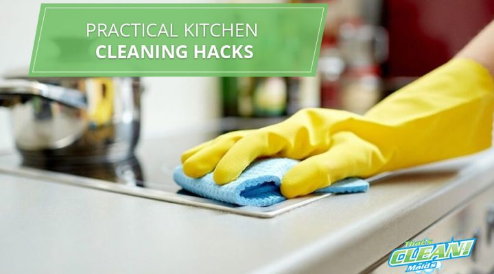 Clean Kitchen With House Cleaning Cypress TX