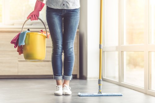 how to clean your house quickly when company is coming