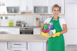How do I prepare my house for cleaning?