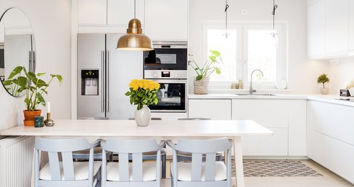 What can I use to disinfect countertops?