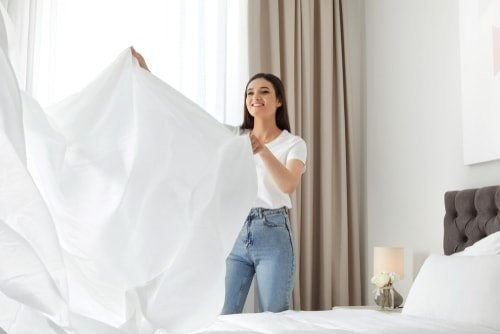 How often should you deep clean your bedroom?
