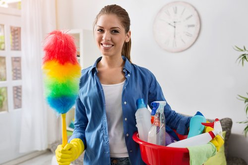 What causes a lot of dust in your house