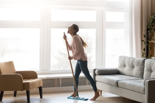 How can I get energy to clean my house