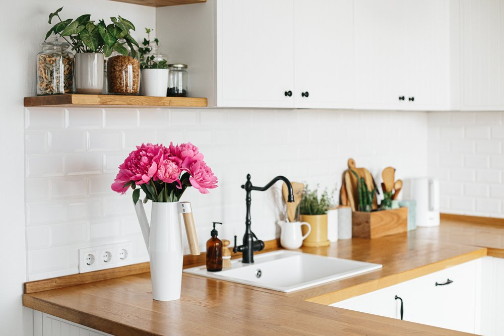 How to disinfect food preparation surfaces